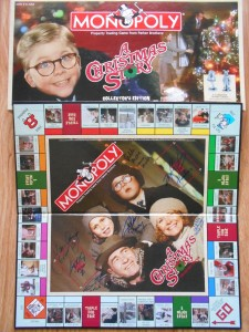 christmas story monopoly signed